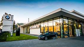 Dealer BMW Bawaria Motors Gdańsk.